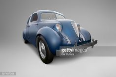 Stock Photo : Aside from the questionable aesthetics, there is much to admire with the one off prototype 1935 Hoffman X-8 Sedan.