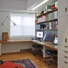 Corner Desk Design, Pictures, Remodel, Decor and Ideas