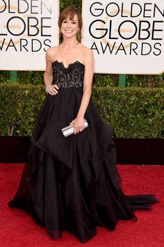 Frances O'Connor- Golden Globes 2015  ELLE.com