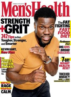 Single issue of Men's health magazine Kevin Hart.