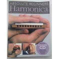 Paraíso Retro Libros: Absolute Beginners Harmonica, Curso de Armónica