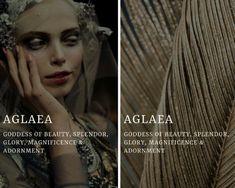 aglaea - greek goddess of beauty, splendor, glory, magnificence & adornment