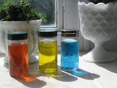 The Wonder Years: Color Bottles- An Introduction to Mixing Colors