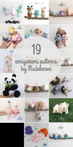 Amigurumi Patterns For Madelenon