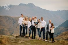 Family photography with mountain views. By Dan Childs at 222 Photographic Studios, Queenstown, New Zealand. #nzfamilyphotography #queenstownphotographer Corporate Photography, Photography Awards, Photography Services, Family Photography, Queenstown New Zealand, Family Get Together, Photographic Studio, Mountain View, Professional Photographer