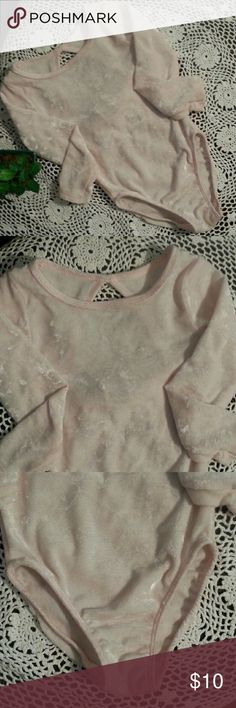 Just In🌹 Simply Basic velvet jumper Soft velvet pastel pink jumper in great condition. Worn twice with undies on for undergarment balarina  costume. Size 4/5 but very small for that size. More like 2-3 year old size. Simply Basic Other