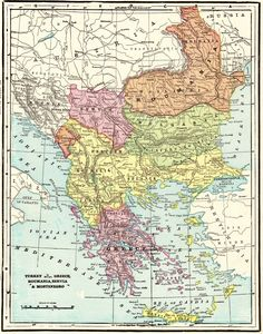 1901 Antique Map of TURKEY Vintage Romania GREECE Serbia Montenegro Map Gift for Anniversary Wedding Birthday 8965 by plaindealing on Etsy Montenegro Map, Serbia And Montenegro, Vintage Maps, Antique Maps, World Map Decor, North America Map, Airplane Mode, Framed Maps, Old Maps
