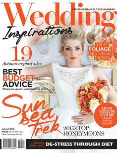 #weddinginspirationsmag Autumn 2015 cover