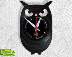 Coruja - Relógio de Parede