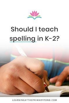 Is it okay to teach spelling? Is it okay to correct students' spelling? What about invented spelling? This post gives Kindergarten, 1st grade, and 2nd grade teachers guidance in teaching spelling and phonics effectively! | Learning at the Primary Pond Teaching Career, Teaching Writing, Writing Activities, Teaching Tips, Teaching Handwriting, Phonics Lessons, 2nd Grade Teacher, First Grade Reading, Learning To Write
