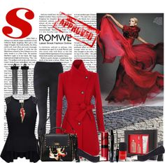 """Shop Romwe's Halloween Sale!"" by littlelaura ❤ liked on Polyvore"