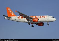 G-EZDM - EasyJet - Airbus A319-111 - Picture at Plane13.com Easy Jet, Cargo Airlines, Let's Have Fun, Aviation, Aircraft, Commercial, British, Planes, Airplane