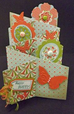 Paper Rose Studio: More Cascading Cards