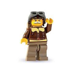 Amazon.com: LEGO - Minifigures Series 3 - PILOT: Toys & Games