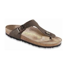 976f7042ce261 Birkenstock – Mocha Gizeh Nubuck Thong Birkenstock Sandals Men
