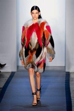 Animal Instinct - Peter Som, awesome coat!! Want.