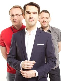 8 Out Of 10 Cats. Image shows from L to R: Sean Lock, Jimmy Carr, Jon Richardson. British Humor, British Comedy, Sean Lock, Jon Richardson, 8 Out Of 10 Cats, Benadryl For Cats, Jimmy Carr, Everybody Love Raymond, Tony Soprano