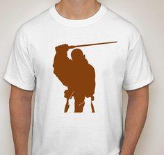 Mace Windu Silhouette T-Shirt by DJsDecals on Etsy