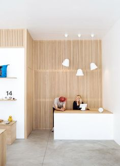 Image result for plywood wall office
