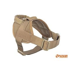 Tactical Dog K9 Training Patrol Vest Harness [2 Sizes,  9 colors option]