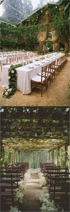 Genius Wedding venues Ideas | http://www.weddinginclude.com/2016/11/genius-outdoor-wedding-ideas/