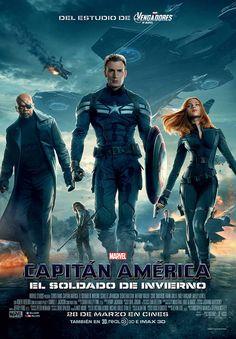"""Cartel de """"Capitán América: El soldado de invierno"""""""