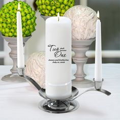 Personalized Unity Wedding Candle w/Stand >>> You can get additional details at the image link.