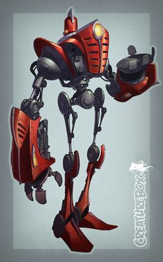 TractorBot by CreatureBox