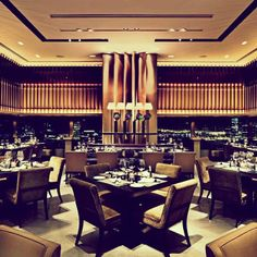 Stop for lunch at Café Gray Deluxe. Housed in Hong Kong's luxurious Upper House Hotel, expect standout food in an elegant setting.