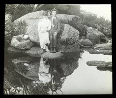 Unknown couple by the Crystal Brook, Mt Buffalo Photo by Alice Manfield , Victoria Australia, South Australia, Western Australia, Australia Travel, Tasmania, Over The Years, Buffalo, Melbourne, Places To Visit