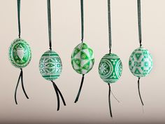 Anna Creates Pysankas U2013 Decorated Easter Eggs And Embroidery Artwork  (pillows And Hand Towels)