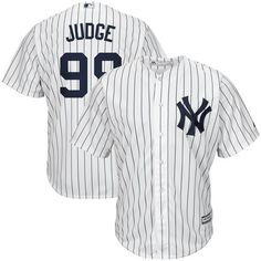 This Aaron Judge Home New York Yankees Player jersey from Majestic will be the perfect piece to add to your collection of Yankees gear! It features Cool Base technology for a lightweight, breathable f