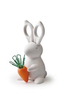 Organizador de escritorio de conejo | 33 Accesorios de escritorio que mejorarán tu día