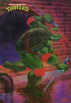 Teenage Mutant Ninja Turtles - Raphael.