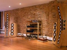 High End Speakers, High End Hifi, High End Audio, Audio Speakers, Music Man Cave, Hi Fi System, Audio Room, Audio Sound, Music System