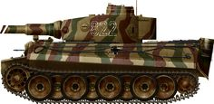2-SS-PzGRenDiv, russia 1943, Ausf. E from the 2nd SS Panzergrenadier Division, Eastern front, spring 1943.
