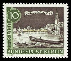 EBS West Berlin 1962-1963 Scenes of Old Berlin Michel 218-229 MNH** in Stamps, Europe, Germany & Colonies   eBay