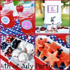 Itsy Bitsy Paper: . . . 4th of July Party by A to Zebra Celebrations . . .