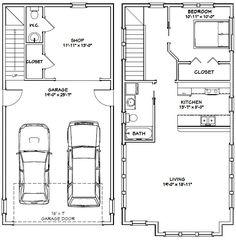 20х40 дом ... #20X40H8B -- 987 кв. м - отличные планы этажей