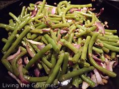 Sweet and Spicy Ginger String Beans recipe - Foodista.com