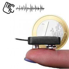 Funkwanze, funkbasierte Abhörgeräte in Microformat mit hoher Reichweite.