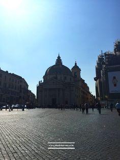Piazza del Popolo  #piazzadelpopolo #Rome #architecture #travel #visitrome  www.aladyinrome.com