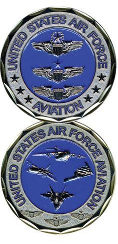 US Navy Naval Aviator Challenge Coin - Meach's Military Memorabilia & More