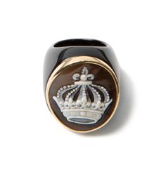amedeo crown onyx ring
