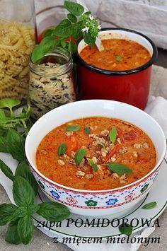 100 ml słodkiej śmietanki Polish Recipes, Polish Food, Indian Food Recipes, Ethnic Recipes, Cabbage Soup, Home Food, Food Design, Soups And Stews, Food And Drink