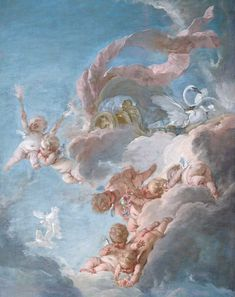 The Chariot of Venus, century by Francois Boucher - Buy The Chariot of Venus, century Paper Art Print - Isabella Stewart Gardner Museum - Custom Prints and Framing Art Inspo, Kunst Inspo, Inspiration Art, Renaissance Kunst, Renaissance Paintings, Angel Aesthetic, Blue Aesthetic, Art Bizarre, Aphrodite Aesthetic