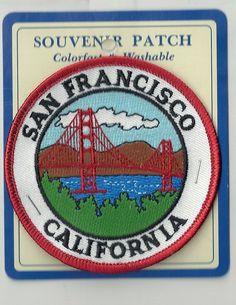 Souvenir Patch City of San Francisco California | eBay
