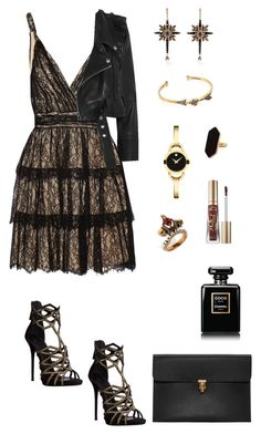"""""""Fab Fridays- 3"""" by lalalace-1 ❤ liked on Polyvore featuring Alice + Olivia, Alexander McQueen, Vetements, Jaeger, Movado, Too Faced Cosmetics, Giuseppe Zanotti and Chanel"""
