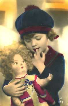 I remember feeling this way about a doll :) Yes, i remember my Betsy Wetsy Doll with suitcase and change of clothes. My only one Xmas gift.  B.