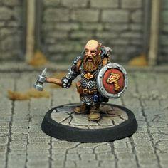 DAD2  Male Dwarf Cleric